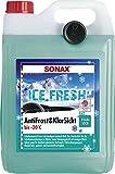 SONAX AntiFrost&KlarSicht IceFresh Gebrauchsfertig bis -20° C (5 Liter) schneller, schlierenfreier und effektiver Scheibenreiniger für den Winter | Art-Nr. 01335410