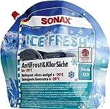 SONAX AntiFrost&KlarSicht IceFresh Gebrauchsfertig bis -20° C (3 Liter) schneller, schlierenfreier und effektiver Scheibenreiniger für den Winter | Art-Nr. 01334410