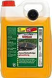 SONAX ScheibenReiniger gebrauchsfertig mit Citrusduft (5 Liter) gebrauchsfertiger Reiniger für die Scheiben- und Scheinwerferwaschanlage | Art-Nr. 02605000
